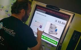 Break Into Vending Machine Mesmerizing How Smart Are Marijuana Vending Machines Ganja Daily Press