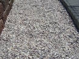use crushed stone under concrete slabs