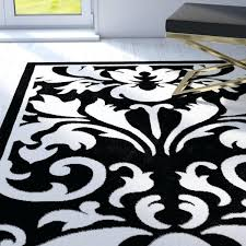 black white area rug red white black area rug abstract carpet