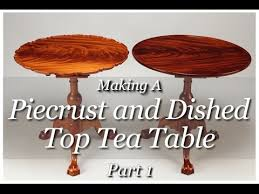 top furniture makers. Piecrust Tea Table Building Process By Doucette And Wolfe Furniture Makers Top
