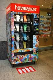 Havaianas Vending Machine Locations Fascinating Havaianas Vending Machine The Galeries Sydney Sliper