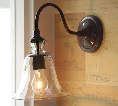 warehouse style lighting. Wall Lamp Warehouse Style Lighting Outdoor Barn Brushed Nickel Light Motion Sensor Commercial Gooseneck