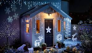 christmas exterior lighting ideas. Exellent Christmas Home Decorated With Christmas Lights Throughout Exterior Lighting Ideas C