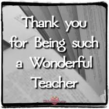 Teacher Message Thank You Notes For Teacher And Appreciation Messages