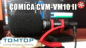 Лучший <b>микрофон</b> для влогов за 40$ <b>COMICA CVM</b>-<b>VM10II</b> ...