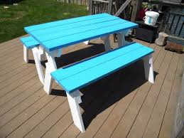 How To Build A Picnic Table With Separate Benches How To Make Picnic Bench