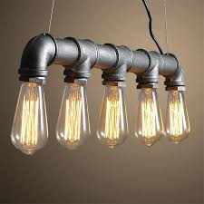 edison light bulb chandelier light bulb chandelier pipes retro bar sets chandeliers industrial style loft cafe edison light bulb chandelier