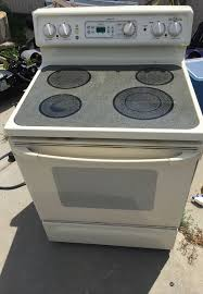 electric glass cooktop stove oven