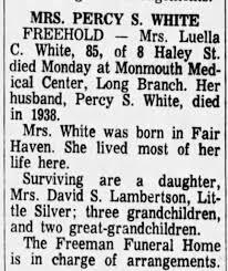 Obituary for Luella Chandler White, who died 27 Nov 1967 - Newspapers.com
