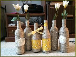 Wine Bottles Decoration Ideas Wine Bottle Decorating Ideas Home Design Ideas 98