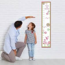 Details About Personalised Canvas Measure Height Growth Chart Fairy Baby Gift Girls Parents