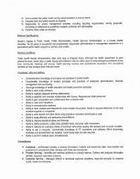 Public Health Resume Objective Wonderful Public Health Resume Objective for Public Health Resume 56