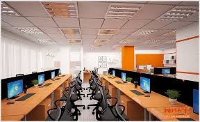 design of office. Interior Design Office Work Domicile Company - View 02 Of L