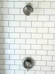 grouting a shower how