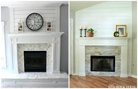 Brick Fireplace Ideas Makeover Is The Best Refinish Paint