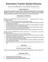 Teaching Resumes 9 10 Teaching Resumes For Experienced Teachers
