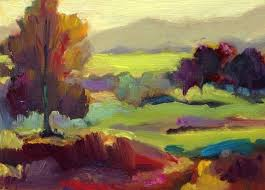contemporary landscape painters abstract