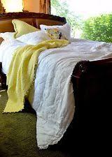Soft Surroundings 100% Cotton Quilts | eBay & SOFT SURROUNDINGS BLANC VIGNE QUILT WHITE QUEEN 100% COTTON Adamdwight.com