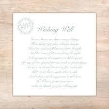Destination Wedding Information Card Wording Palm Card Template Word