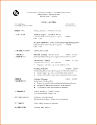 First Resume Template Gallery of Resume Templates For First Job 36