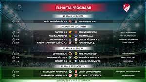 Süper Lig'de 12-15. hafta programları açıklandı - Fenerbahçe Spor Kulübü