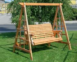 Wooden Outdoor Swings For Adults Wood Tree Toddlers Patio Swing Set Plans