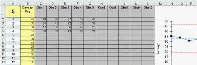Real Time X Barr Control Chart Template In Excel Qi Macros