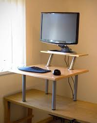 small office desk ikea stand office. Stylish Stand Up Adjustable Desk Ikea A Standing With Mostly Throughout Conversion Remodel 3 Small Office I