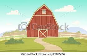 farm barn clip art. Red Farm Barn - Csp29075857 Clip Art P