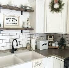 Image Gorgeous Fixer 36 Farmhouse Kitchen Decor Ideas To Transform Your Kitchen Tags kitchenideas kitchendesign farmhousedecor rustichomedecor rusticfarmhouse Pinterest 35 Best Farmhouse Kitchen Decor Ideas To Transform Your Kitchen