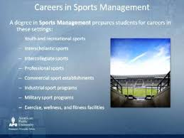 Sports Management Careers Sports Management Jobs Magdalene Project Org