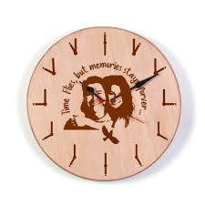personalised wall clocks with photo