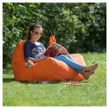 outdoor floor cushions. Tesco Large Polyester Indoor/Outdoor Floor Cushion, Orange Outdoor Cushions S