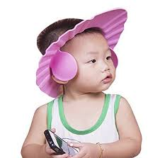 baby shower cap. Unique Baby Buy Futaba Adjustable Baby Bath Shower Cap With Ear Shield  Pink Online   Best Prices In India Rediff Shopping And