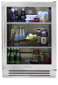 undercounter refrigerator glass door