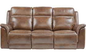 brown leather couches. Unique Leather Barcaccia Brown Leather Power Reclining Sofa Inside Couches