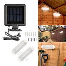Solar Lights For Garden Shed  Home Outdoor DecorationSolar Garage Lighting