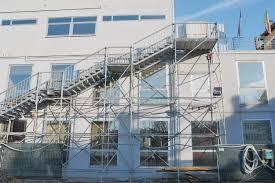 Progettazione Scale Antincendio : Scala antincendio ad uso pubblico mestre venezia case