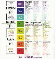 Alkaline Drinks Chart Acid Alkaline Diet Chart