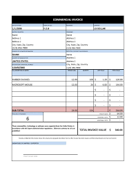Invoice Generic Template Free Billing Word Awful Download ~ Meezoog