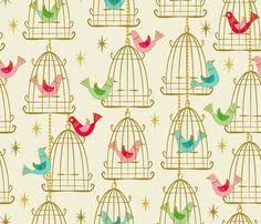 vintage bird iphone wallpaper. Perfect Vintage Vintage Wallpaper For Sale  Vintage Bird Cages And Stars By  Retrorudolphs On Throughout Iphone Wallpaper
