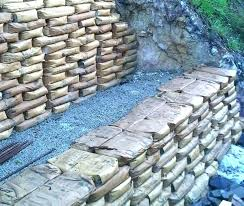 concrete bag retaining wall concrete bags retaining wall how to build concrete bag retaining wall rip
