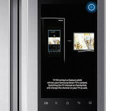 samsung tv refrigerator. samsung touch x to proceed tv refrigerator u