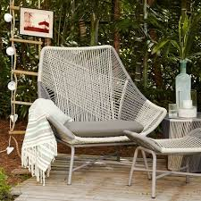 Image Backyard Dont Have Any Outdoor Space And This Kind Of Money But Damn Wish Did Huron Chair West Elm Pinterest Huron Outdoor Large Lounge Chair Cushion Sitting Is The Best