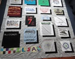 T Shirt Quilt Pattern With Different Size Blocks Enchanting Tshirt Quilt See Kim Sew
