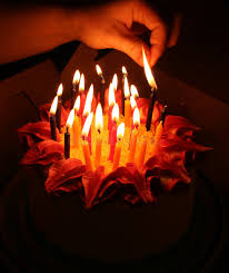 lighting birthday candles stock photo image of flames 1369686
