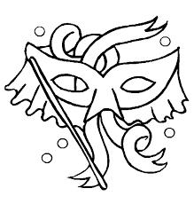 Mooi Masker Kleurplaat Wielostditopnl