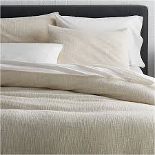 lindstrom ivory duvet covers and pillow shams