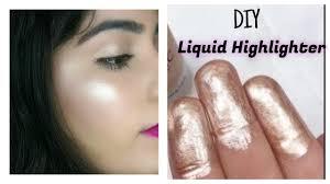 diy liquid highlighter make your own highlighter at home diy makeup series