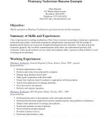 Examples Of Cover Letter For Resumes Delectable Professional Resumes Pharmacy Technician Resume Example Format